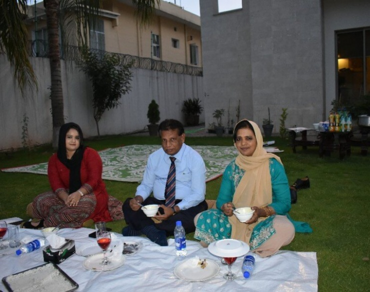 Sri Lanka High Commisson in Islamabad Hosts an Iftar