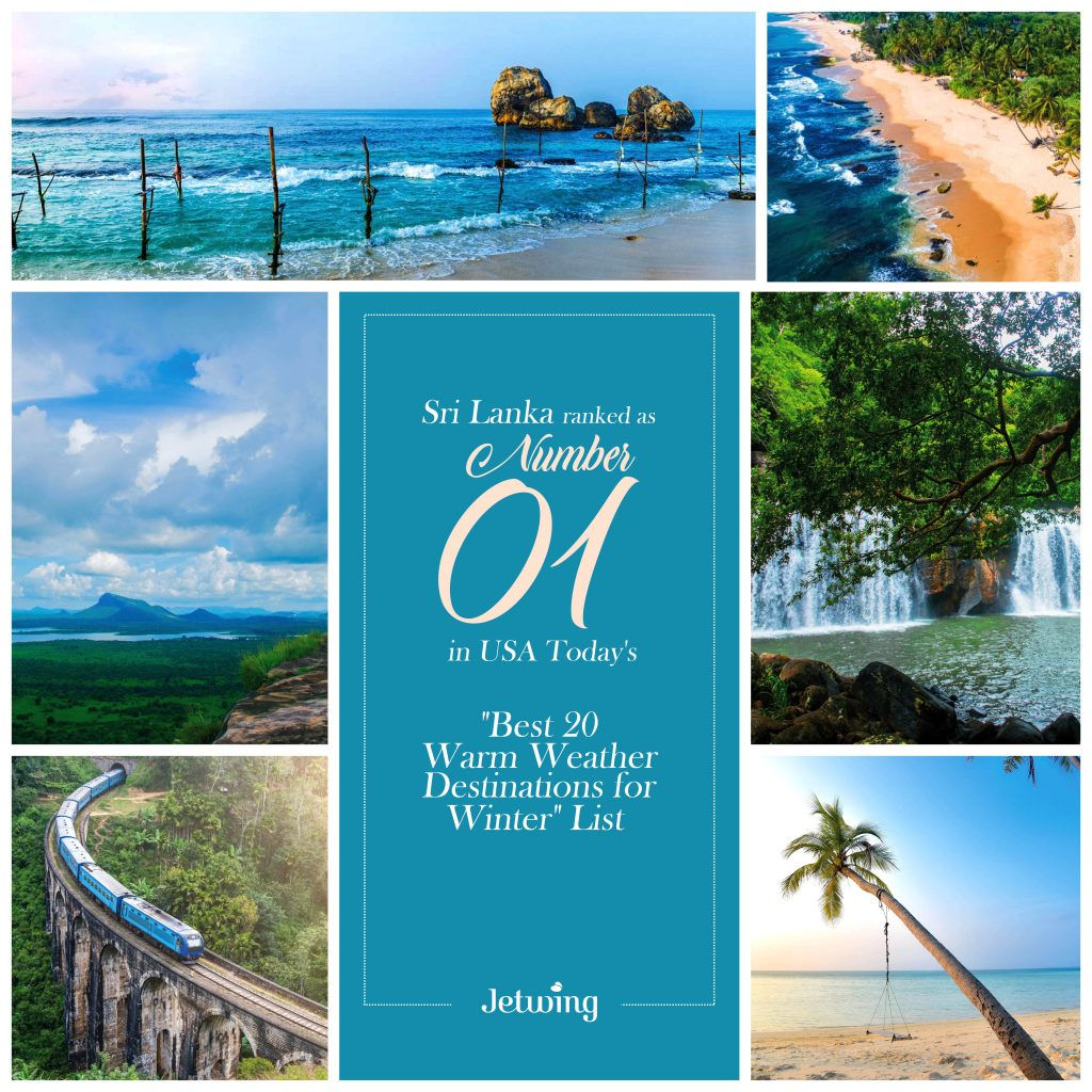Sri Lanka ranked as the best warm-weather destinations to visit in this winter