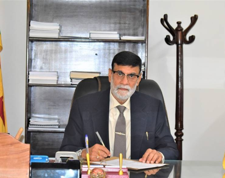 Newly appointed H.E. the High Commissioner of Sri Lanka to Pakistan