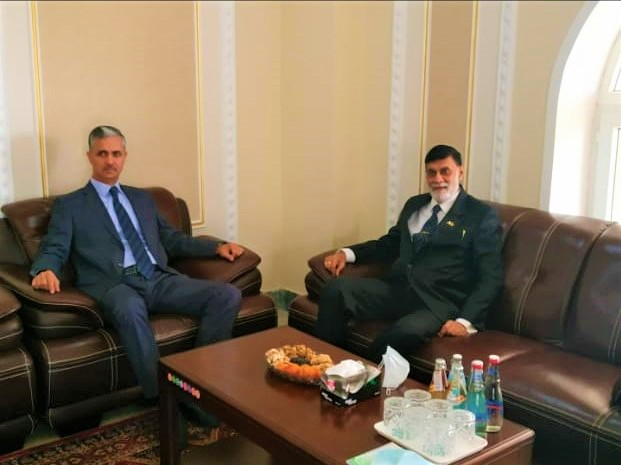 HE the High Commissioner, made a courtesy call on HE the Ambassador of Tajikistan