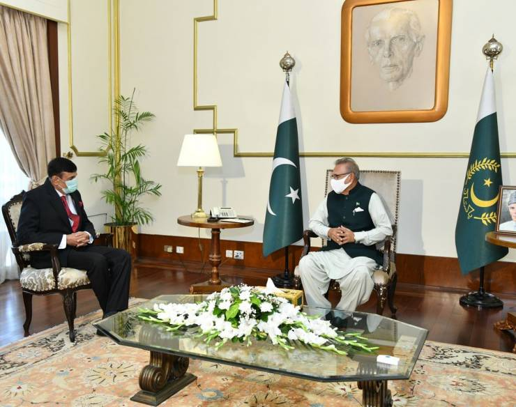 A formal call on His Excellency the President of the Islamic Republic of Pakistan