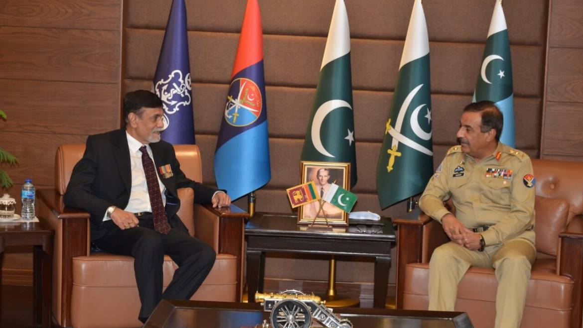 High Commissioner calls on CJCSC of Pakistan Defence Forces