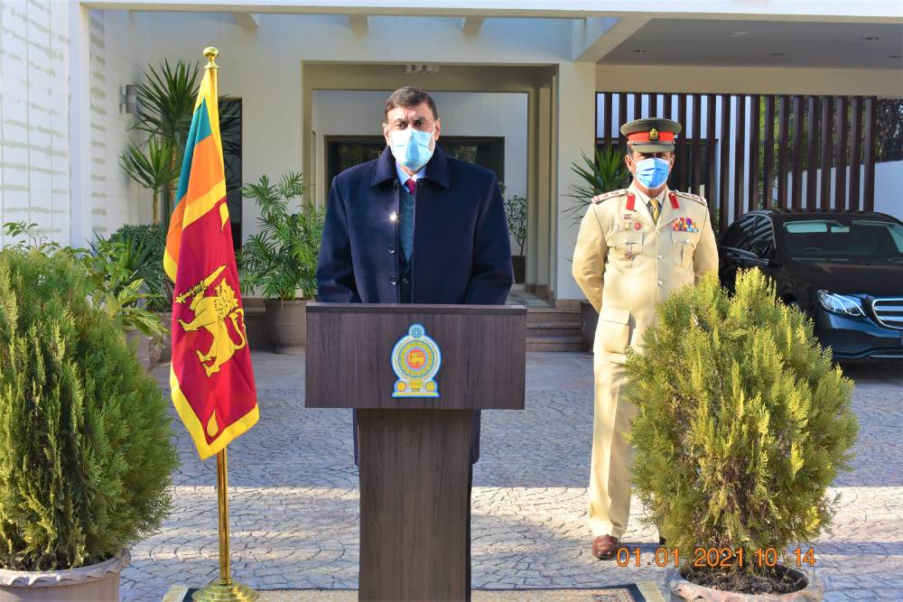 The High Commission of Sri Lanka in Islamabad commenced work for the year 2021 at the High Commission