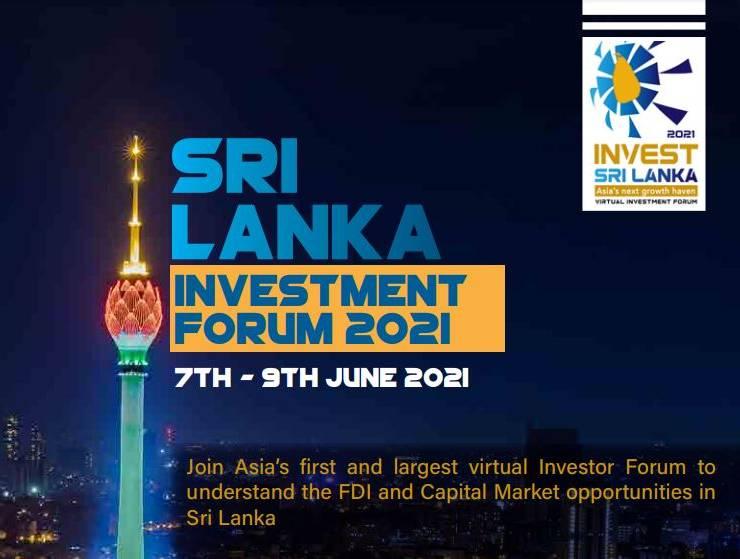 Join Sri Lanka Investment Forum 2021